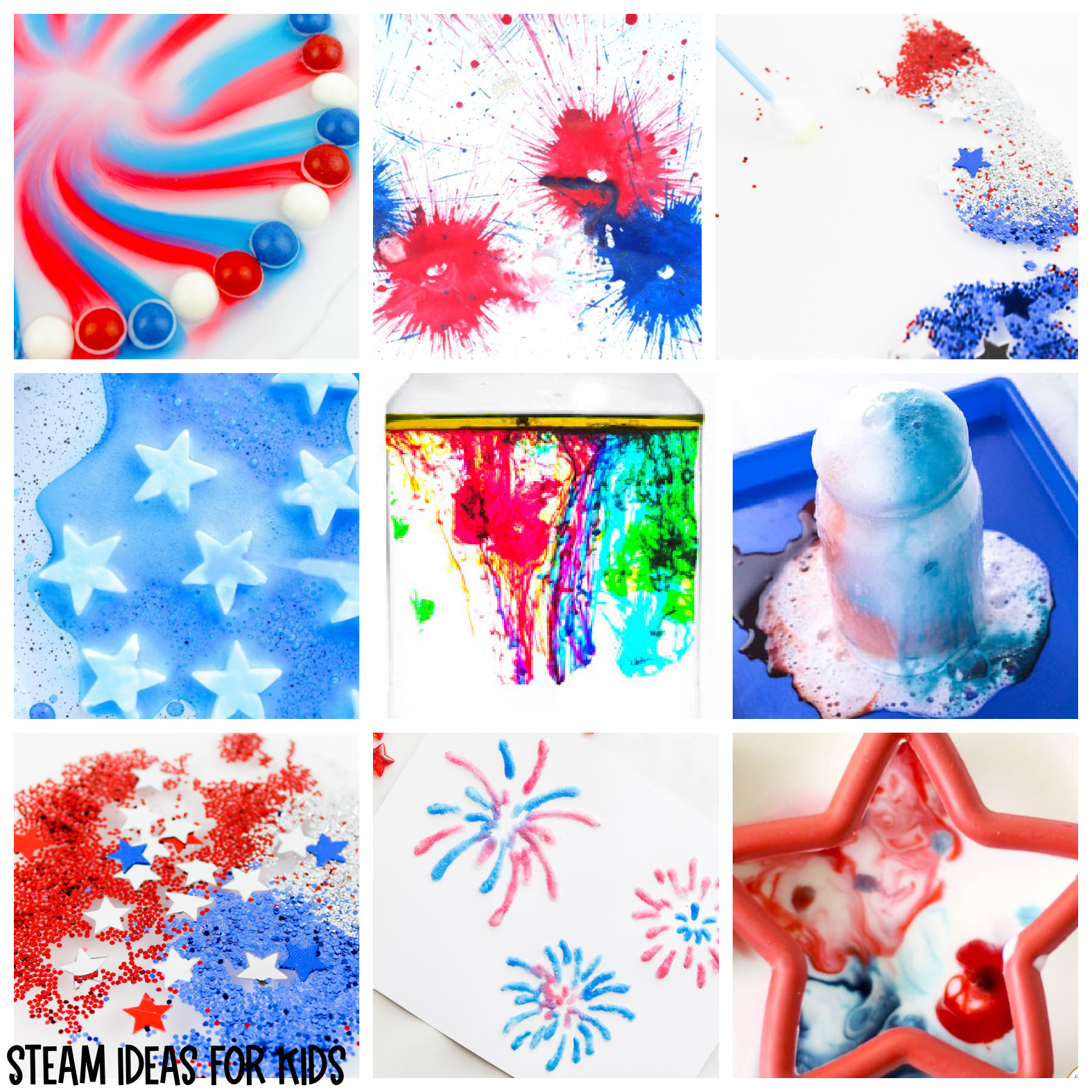 4th of July Science Experiments